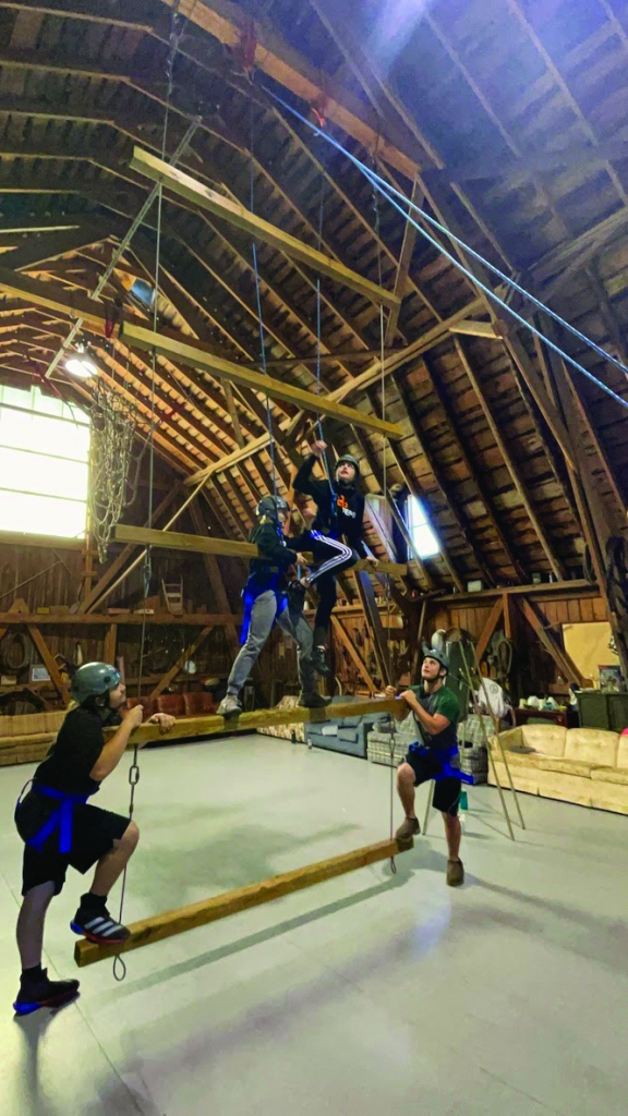 TEMA (Technology Education and Manufacturing Academy) juniors participated in a leadership trip at the Door County Adventure Center on Monday October...