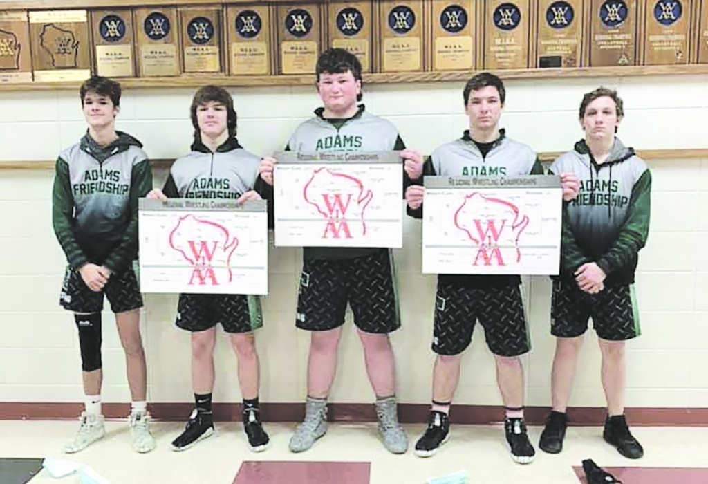 The Adams-Friendship Wrestling team took to the mats in their first tournament of the year on Saturday in Richland Center. With Regional...
