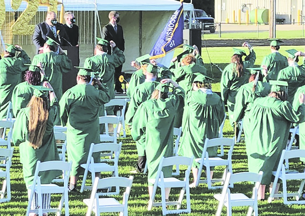 By Theresa DavidIt was a chilly evening as the Adams-Friendship High School seniors walked onto the football field at 6:00pm as the graduating...