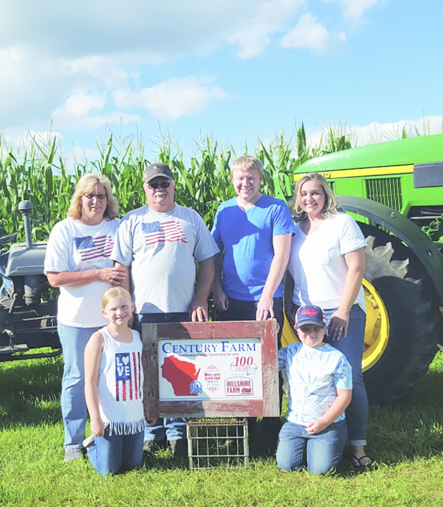 John and Carol (Hendricksen) Jefferson should have received their Century Farm Award at the Wisconsin State Fair last August, but Covid-19 had...