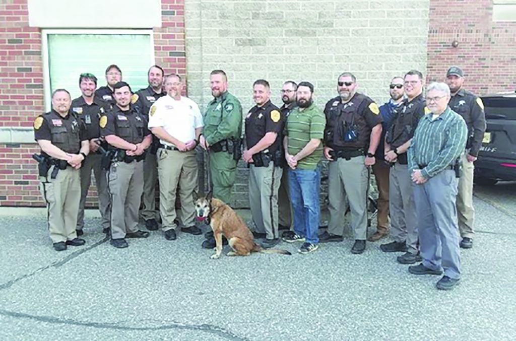 After eleven years of dedicated service to the Adams County Sheriff's Department, K9 Mieka submitted her letter of retirement to Sheriff Brent...