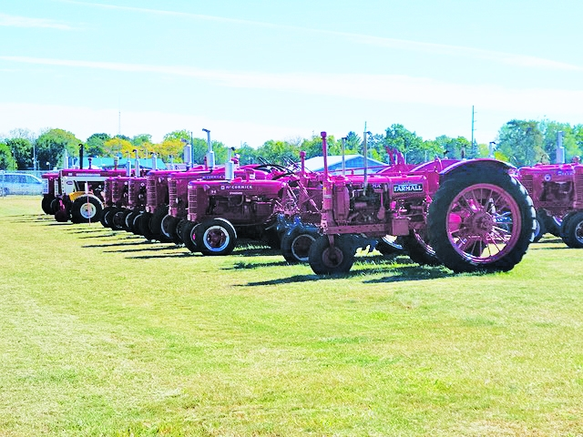 The Old Farmers Antique Club Fall Festival was blessed with beautiful weather for the well attended event held Friday September 24 through Sunday...