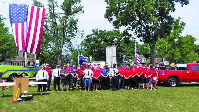 The Adams County Fire District hosted a 9/11 Memorial Walk during the annual 4th of July Parade in Adams. Following the Parade they also held a...