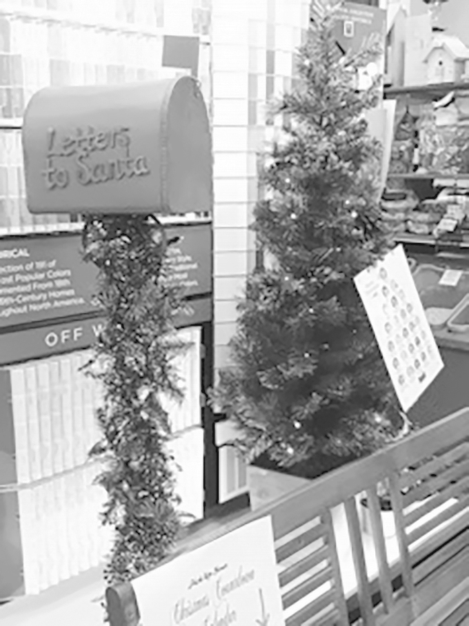 Mailboxes for Santa have been placed throughout the Adams Friendship community for children to send their wish lists to the North Pole. ...